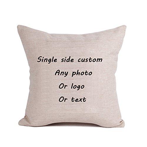 Personifizierte kundenspezifische Kissen-Abdeckungs-Einsatz eingeschlossen mit Ihrem eigenen Foto oder Text für einen Liebhaber/Geburtstags-Geschenk/Erinnerungsgeschenk