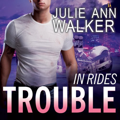 In Rides Trouble audiobook cover art