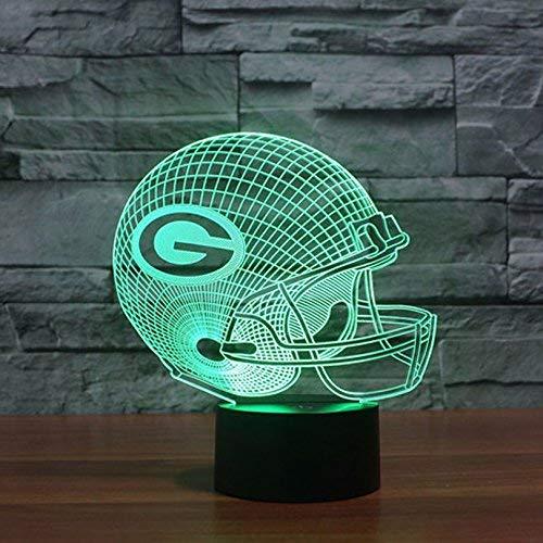 Green Bay Packers Led Tischlampe Neonschild Neu 3D Neon NFL USA Schnelle Lieferung