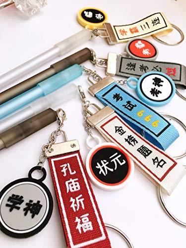 Weihnachtenxueba Speziellen Stift Test Gott Streamer Anhänger Gelschreiber Transparenten Stab Stift 0.5Mm Komplettes 5Er-Set
