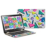 MightySkins Skin Compatible with Toshiba Satellite Radius 11 L15W-B 11.6' wrap Cover Sticker Skins Awesome 80s