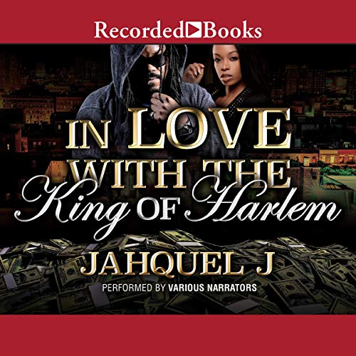 In Love with the King of Harlem audiobook cover art
