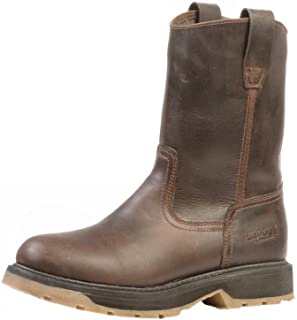 American Country bo-0700-ee–Rugged Boots Covered (Foot)–Men–Brown–Leather
