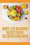 Baby Led Weaning Rezeptbuch Selberschreiben: Ein leeres Rezeptbuch zum Eintragen und Selberschreiben von BLW Rezepten - Baby Led Weaning Blanko ... - Gestalte dein eigenes Breifrei Kochbuch