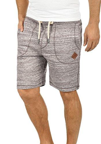 !Solid Aris Herren Sweatshorts Kurze Hose Jogginghose Mit Melierung Und Kordel Regular Fit, Größe:XL, Farbe:Coffee Bean (5973)