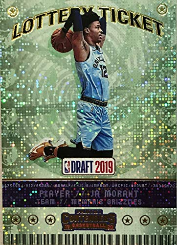 2019-20 Panini Contenders - JA Morant - LOTTERY TICKET PARALLEL - Memphis Grizzlies NBA Basketball Rookie Card - RC Card #2