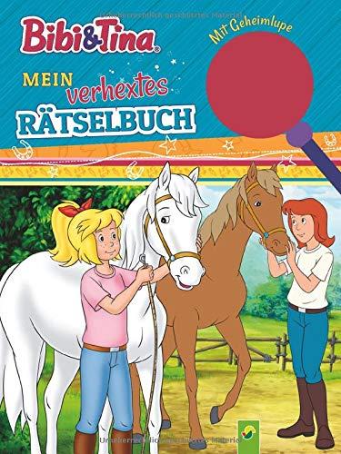 Bibi & Tina Mein verhextes Rätselbuch: Spiel-Spaß mit Geheimlupe zur Selbstkontrolle