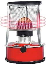 equival Estufa de Queroseno, 7800-8900 kcal/Hora, Blanco 6L / Rojo 4.5L, Calentador de Estufa de Queroseno doméstico de Interior, Estufa de Gas de Cassette Estufa de Queroseno Calentador de Tipo Here