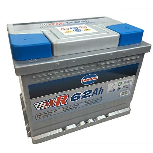 Tamoil Batteria Tamoil 62Ah DX POTENZIATA 570A EN Batteria Tamoil 62Ah DX POTENZIAT