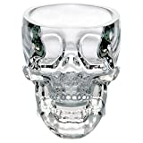 YEZINB Crystal Skull Head Shot Glass Cup para Whisky Wine Vodka Transparente Home Drinking Ware Man Gift Cup, 300ml