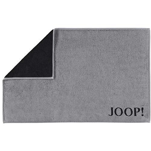 Joop! Badmat Classic Doubleface 1600 antraciet/zwart - 91 50x80 cm