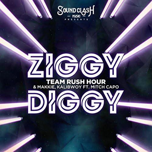 Team Rush Hour, Makkie & Kalibwoy feat. Mitch Capo