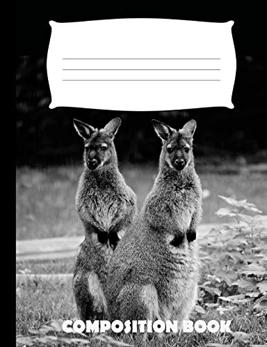 Composition Book: Wallaby Composition Notebook Wide Ruled