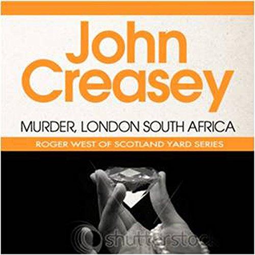 Murder, London-South Africa cover art
