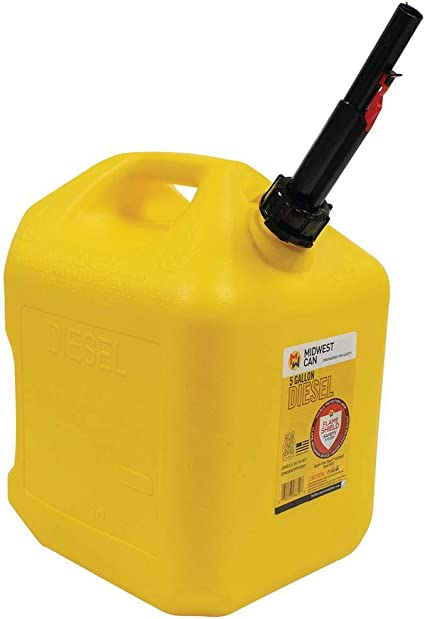 Midwest Can 8600 Diesel Can - 5 Gallon Capacity: image
