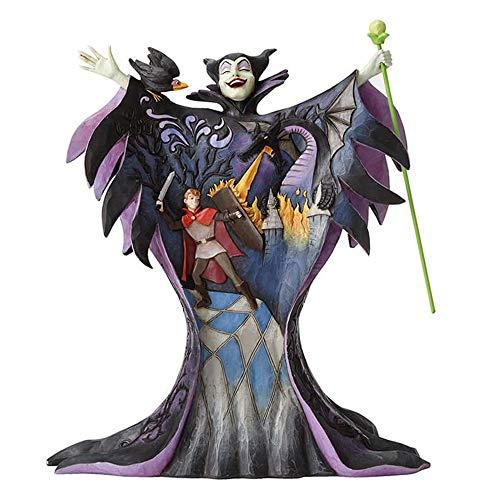 Enesco 4055439die Königin malefique Kleid Prince Figur Kunstharz Mehrfarbig 19x 10,2x 18cm