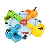 Hipopótamo Hambriento Que traga canicas Juguetes educativos interactivos Educación temprana Juego competitivo Doble Juego de canicas para niños