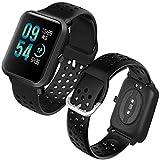 Th-some Correa para Amazfit GTS Smartwatch Reloj de Pulsera Compatible con Amazfit GTS/Amazfit Bip/Amazfit GTR 42mm Band Silicona Watch con Agujero de Aire Transpirable Sin Tracker
