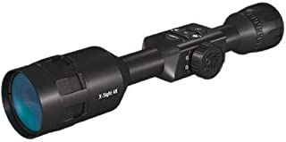 ATN X-Sight 4K Pro Smart Day/Night Rifle Scope - Ultra HD 4K technology with Superb Optics, 120fps Video, 18+ hrs Battery, Ballistic Calculator, Rangefinder, WiFi, E-Compass, Barometer, IOS & Android Apps