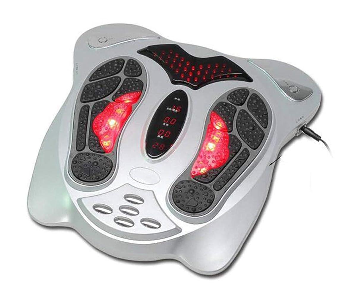 ビジョン本当にギャップ電気の フットマッサージャー健康理学療法は、血液循環の改善、痛み、痛み、腫れを改善するのに役立ちます。 人間工学的デザイン, Silver