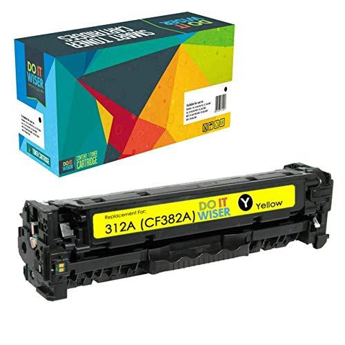 Do it Wiser Compatible Toner Cartridge Replacement for HP 312A 312X CF380X CF380A CF381A CF382A CF383A (Black Cyan Magenta Yellow, 4-Pack) Photo #4