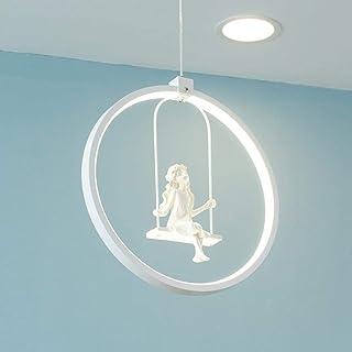 家族用シーリングライト LEDスイング革新的なシャンデリアUnsubdividedシャンデリアアクリル装飾シャンデリアデザインベッドルームランプダイニングテーブルリビングテーブルランプ