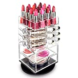 Ikee Design Premium Acrylic Rotating Cosmetic...