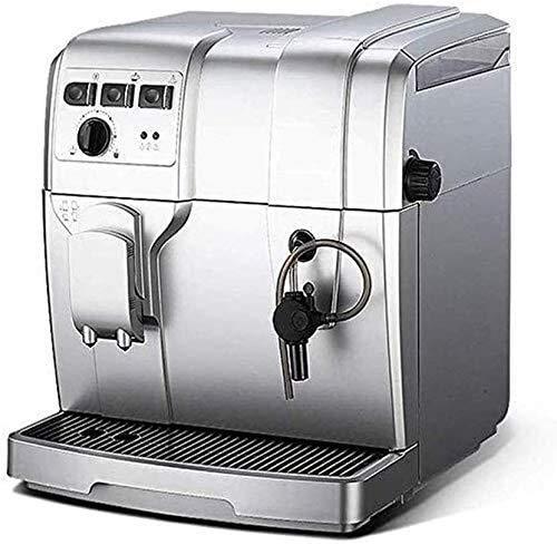 LXYZ Espressomaschine, Kaffeemaschine Automatische Pumpe 19BAR Hochdruckabsaugung Vollautomatischer Dicktoner 5-Gang-Einstellung 1300 W Hochleistung