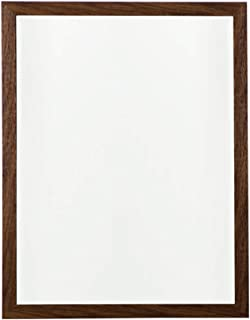 WYXIAN Mirror Wall-Mounted Bathroom Parlor Makeup High-Definition Rectangle Framed Simple, 2 Colors (Color : White, Size : 50X2.5X70CM)