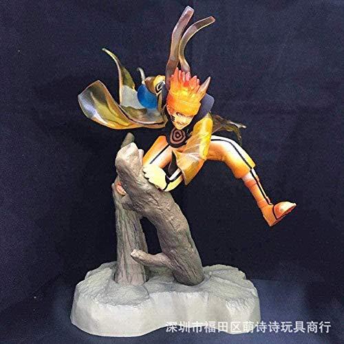 Anime Figur Anime Figur Shippuden Holz Whirlpool Naruto Hand Modell Puppe Figur hoch ca. 25CM Anime Figuren Action Figuren Home Decoration
