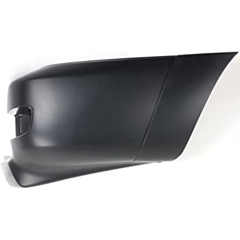 Driver Side Bumper Extension Plastic Primed For Tacoma 05-11 Front