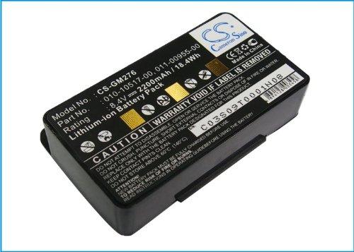 Cameron Sino CS-GM276 - Batería para Garmin DC50, DC50 Collar de Seguimiento de Perro, Alpha, Dispositivo Perro TT10, 2600 mAh