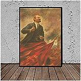 sechars Lenin auf der Tribüne Kunst Leinwand Gemälde für