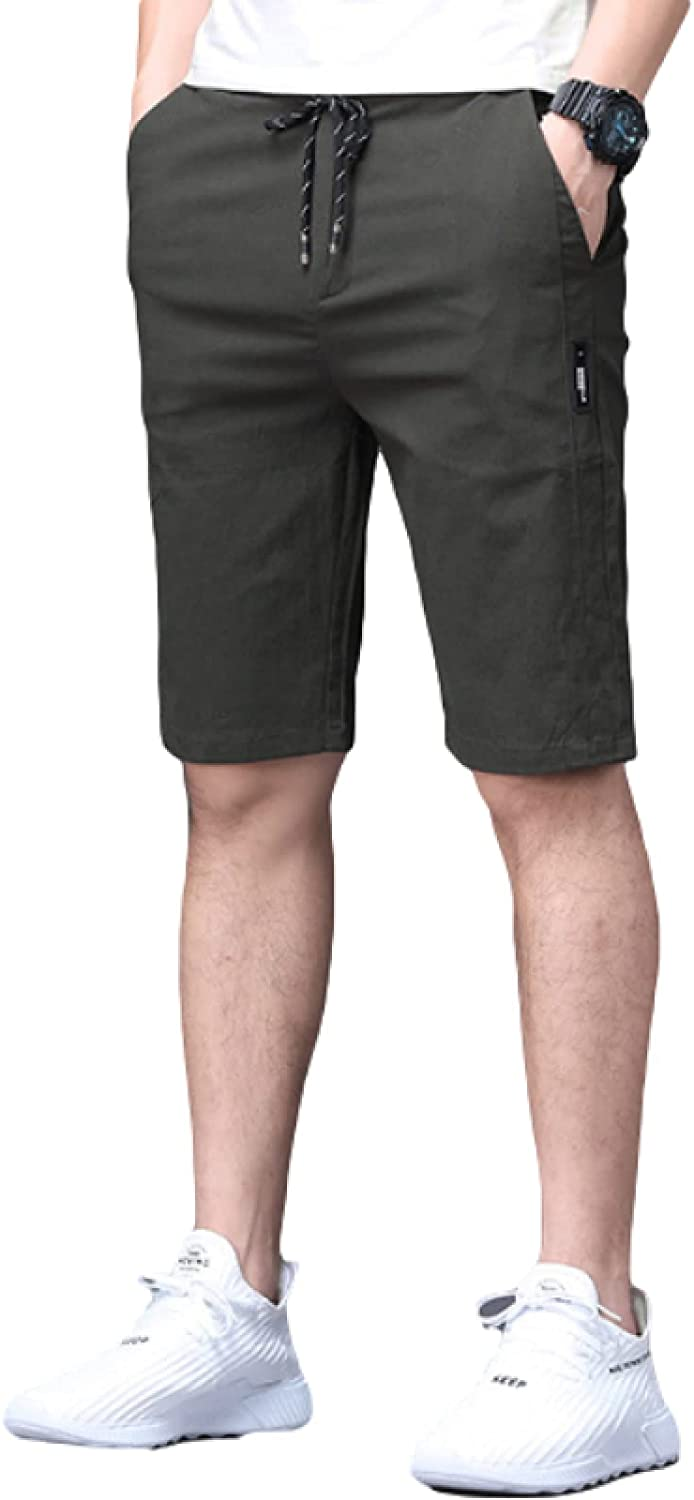 Men's Classic Regular Fit Shorts Summer Breathable Quick Dry Trend Comfortable