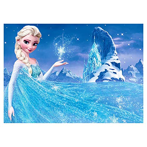 DIY 5D Diamond Painting Kits for Adults Full Drill Embroidery Paintings Rhinestone Pasted DIY Disney Painting Cross Stitch Arts Crafts for Home Wall Decor 30x40cm/11.8