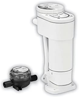 Jabsco 29200-0120 Manual to Electric Marine Toilet Converstion Kit for Jabsco Toilets 29090 and 29120, White