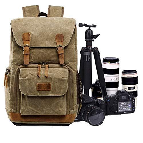 Mochila impermeable para cámara Pingtr multifunción para fotografía profesional, mochila de viaje...