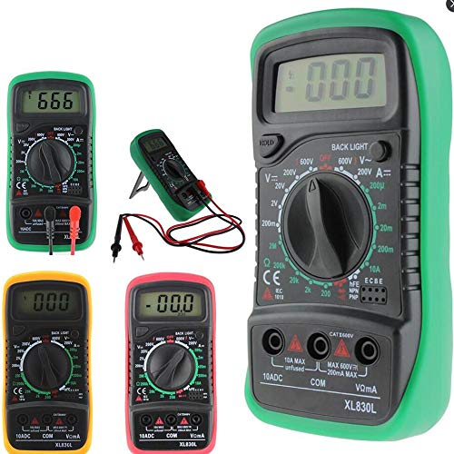 Soonhua multimeter spanningsmeter CD multimeter digitale voltmeter AC DC multimeter tester circuit Blauw