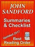 JOHN SANDFORD Series Reading List with...