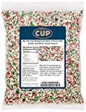 By The Cup Peppermint Bark Candy 2 Pound Red...