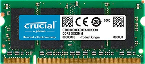 Price comparison product image Crucial 2GB DDR2 SDRAM Memory Module