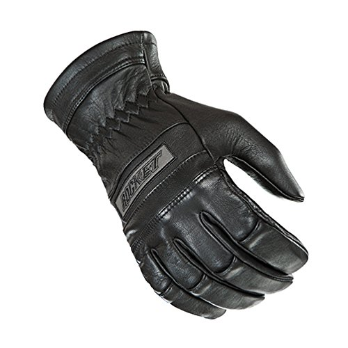 Joe Rocket Mens Classic Leather Motorcycle Gloves Black Large L 1338-1004
