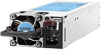 HPE Hot-Plug /, Redundant - Plug-in Module 500 Power Supply 720478-B21, Silver