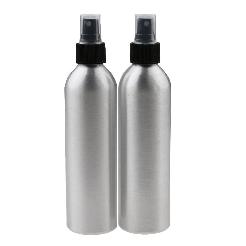 テニス紀元前甘味Perfk 2個入り 旅行 アルミ ミスト スプレー 香水ボトル メイクアップ スプレー アトマイザー お風呂/出張/旅行/海外に適用  全4サイズ - 100ml