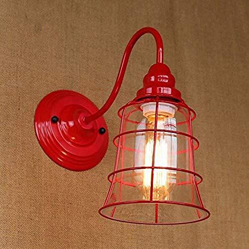 MEIXIAN wandlamp Replica Designer Fashional Style Mini rode kleur glazen scherm lamp veranda lampen eenvoudig retro