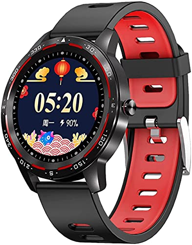 H86 Reloj Inteligente Pantalla Táctil Completa Bluetooth IP67 Impermeable Múltiples Modos Deportivos Frecuencia Cardíaca Pronóstico del Tiempo Adecuado para Android IOS-B