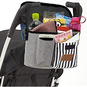 HenrysMark ベビーカーバッグ 大容量 ベビーカー用バッグ マザーズバッグ ベビーカー バッグ