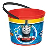 amscan Thomas All Aboard Container, Party Favor, Blue/Yellow