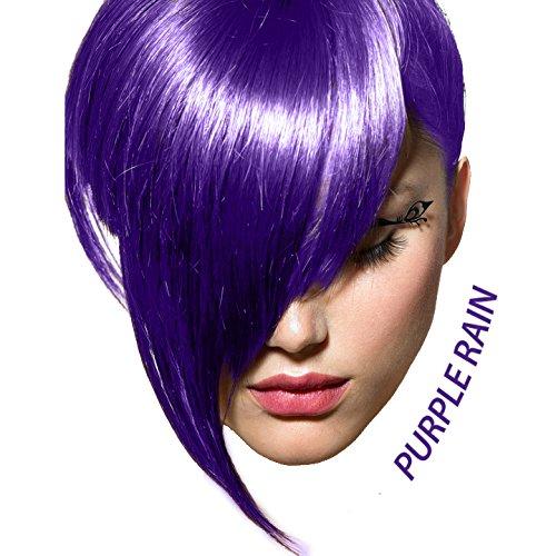 Arctic Fox Vegan and Cruelty-Free Semi-Permanent Hair Color Dye (8 Fl Oz, PURPLE RAIN)
