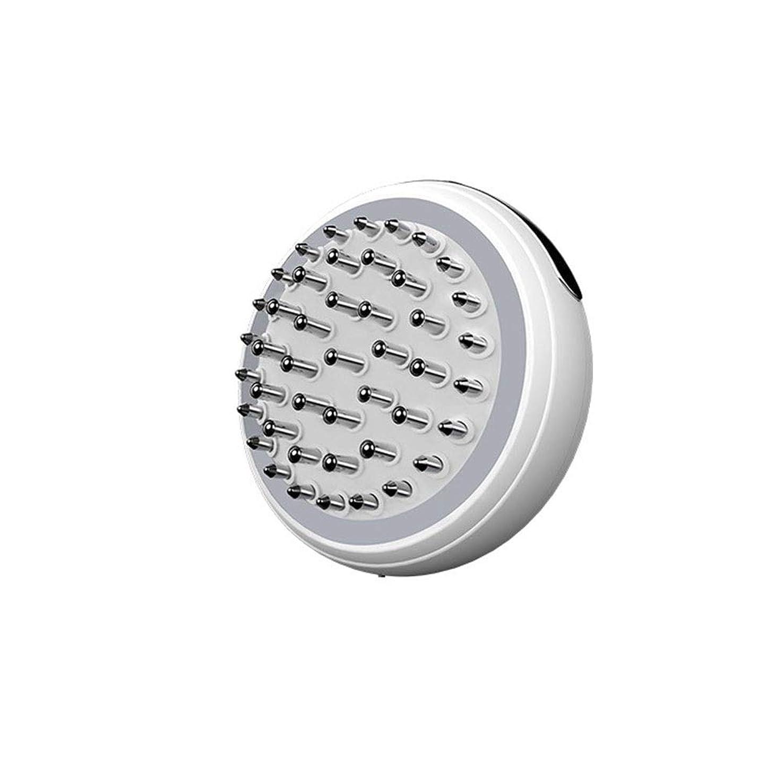 進行中空適度なヘアコーム家庭用EMSマイクロ電流Ionマッサージくし赤外線健康開発マッサージ機器